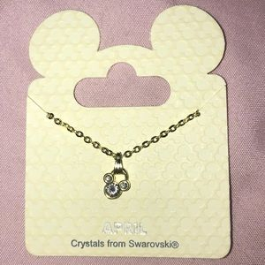 Disney April birth stone necklace